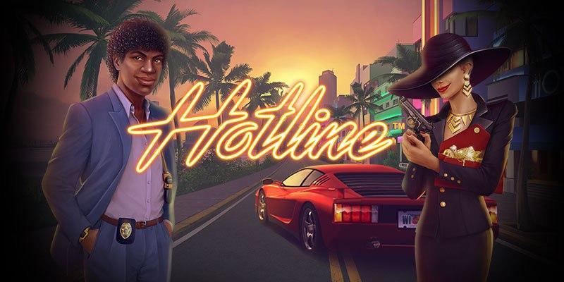 Hotline online casino slot by netent